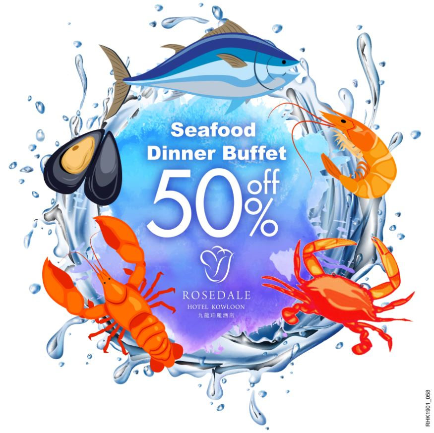 In-House Guests Promotion | Sonata Seafood Dinner Buffet 50% Off